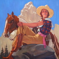 Mountain Cowgirl